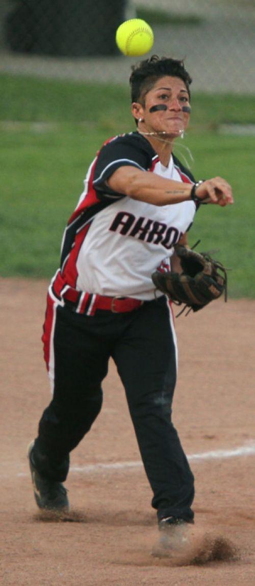 Kelley Montalvo 3rd Base Akron Racers Defensive Beast Softball Rules Joey Votto Racer