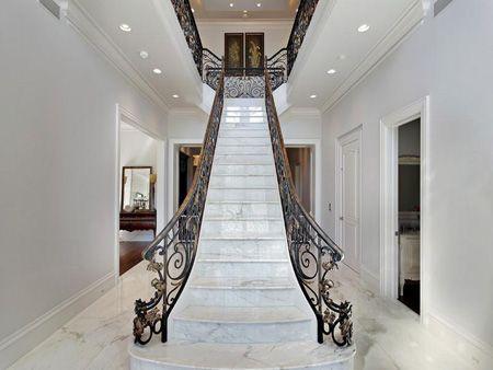 Mit richtige Pflege, #Marmor #Treppen können Leben lang halten - holz treppe design atmos studio