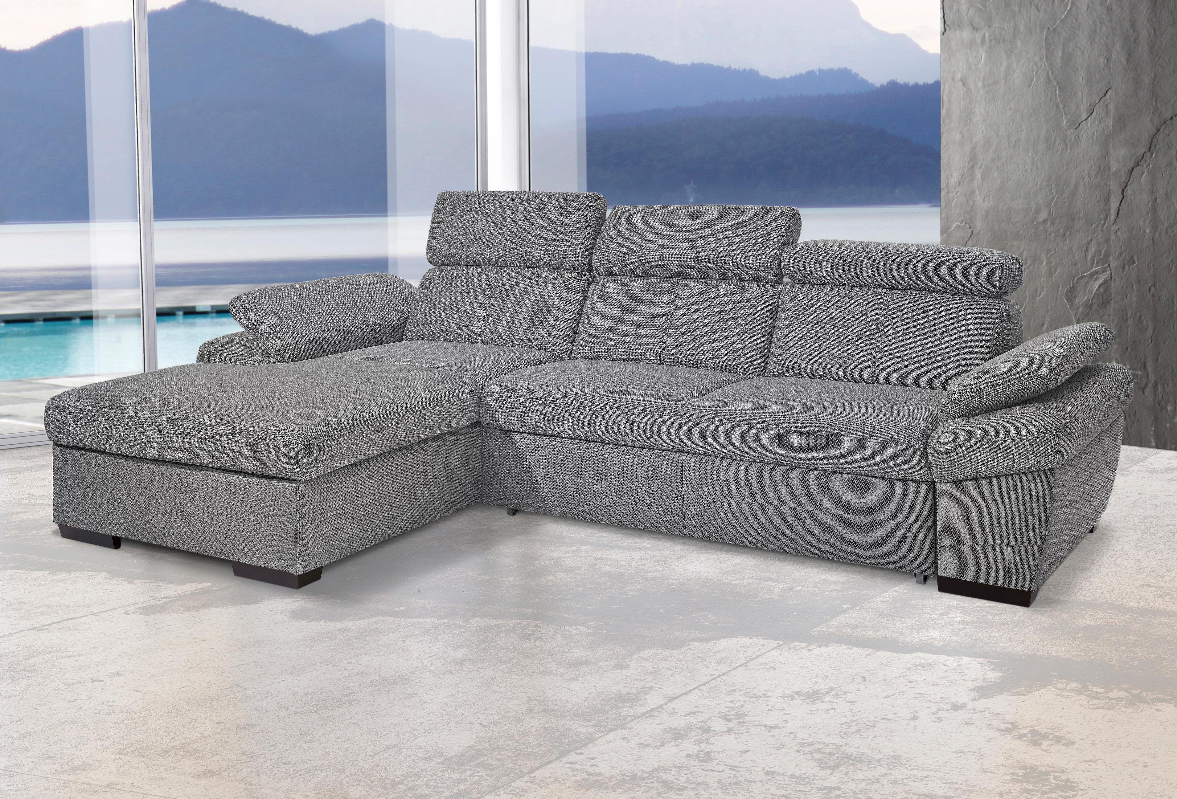 Wundervoll Sofa Mit Recamiere Ideen Von Exxpo Ecksofa Grau, Links, Bettkasten, Fsc®-zertifiziert Jetzt