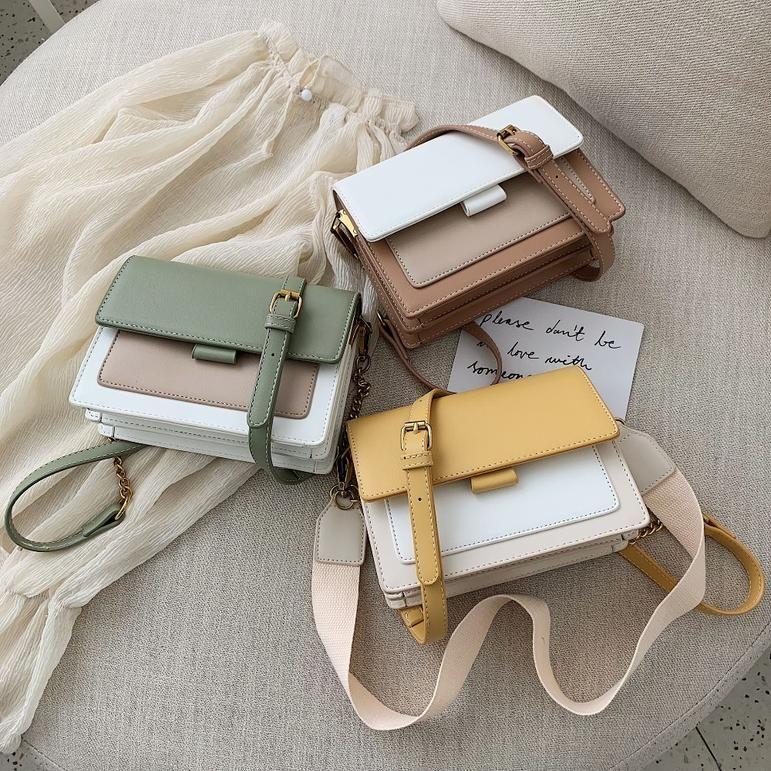 Women Shoulder Handbag Leather Cross Body Bag Tote Chain Messenger Satchel Purse