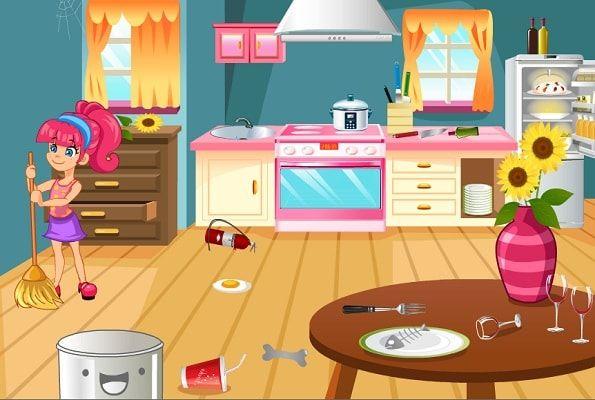 مساعدة الام تنظيف غرف المنزل العاب بنات House Decorating Games Girl House Gaming Decor