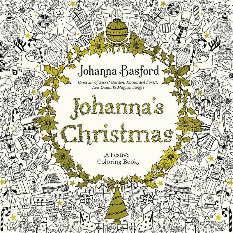 Johannas Christmas A Festive Coloring Book For Adults