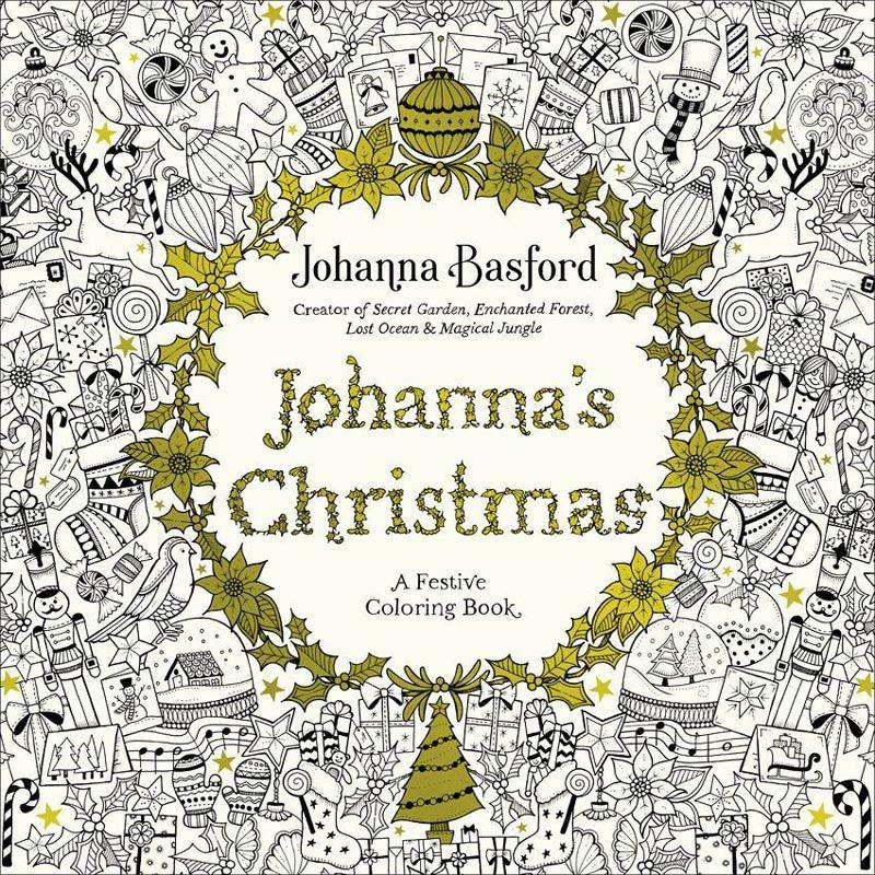 Johanna Basfords Magical Jungle Johannas Christmas Book