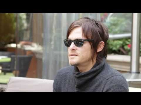 "Norman Reedus, Daryl Dixon on ""The Walking Dead"" - Part One of the Exclusive Interview - YouTube"