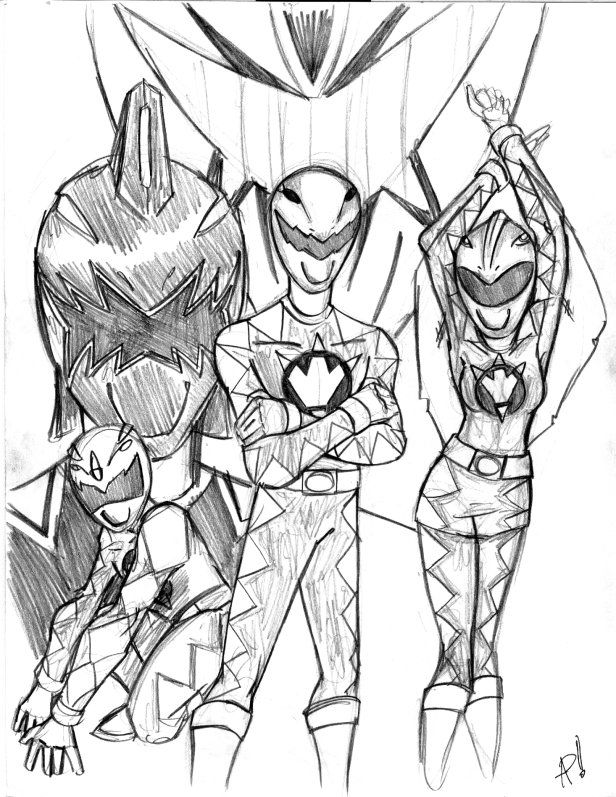 Power Rangers Dino Thunder by psifreek27 on DeviantArt ...