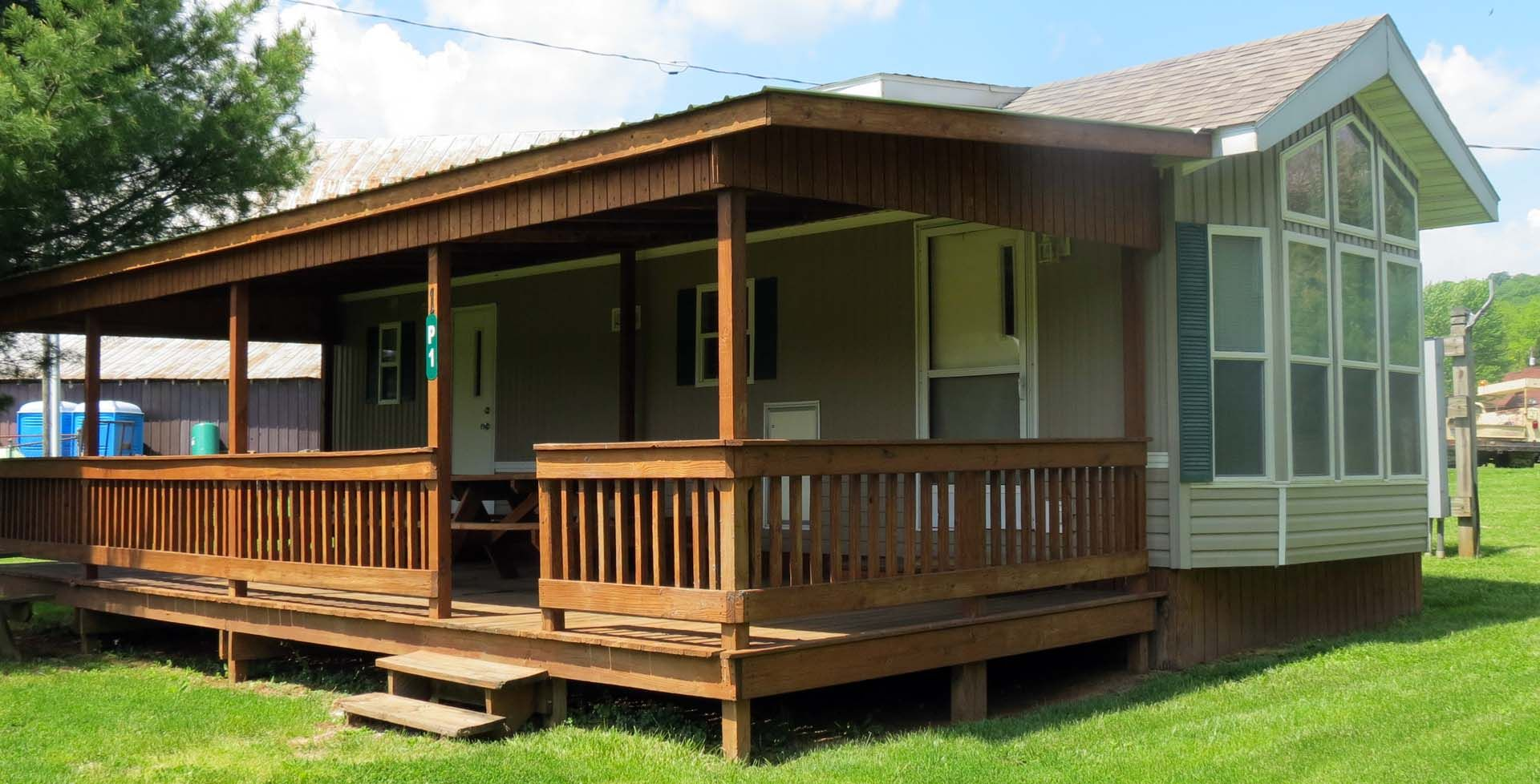 Long S Retreat Two Bedroom Park Model Cabin With Loft