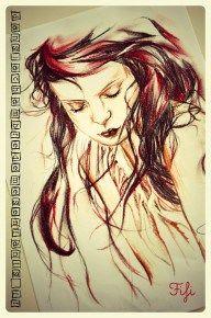 Dessin femme by Fifi - dessin - drawing - illustration