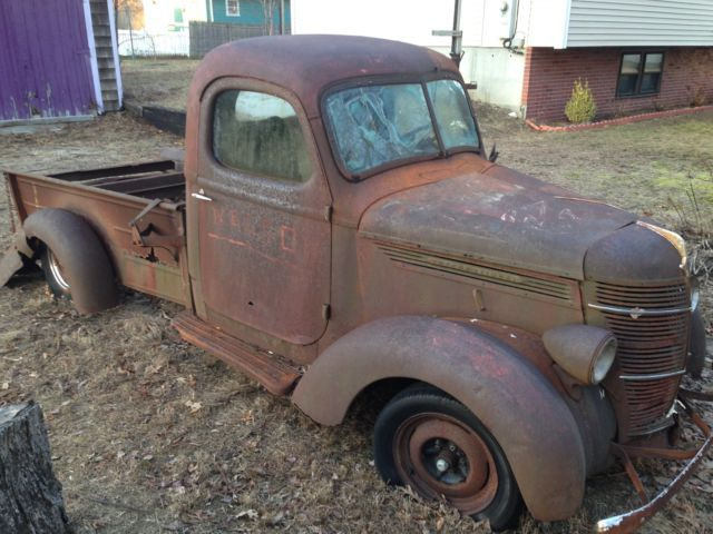1939 International D2 1 2 Ton Pickup Truck For Parts Or