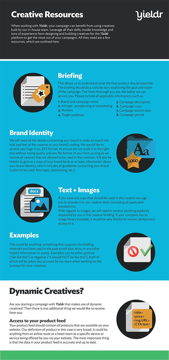 Creative Resources One Pager