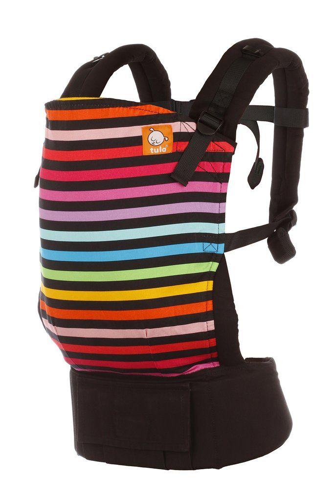 0788ea70c46 Rainbow baby carrier! Mia - Tula Baby Carrier. Rainbow stripes always seem  to make us smile