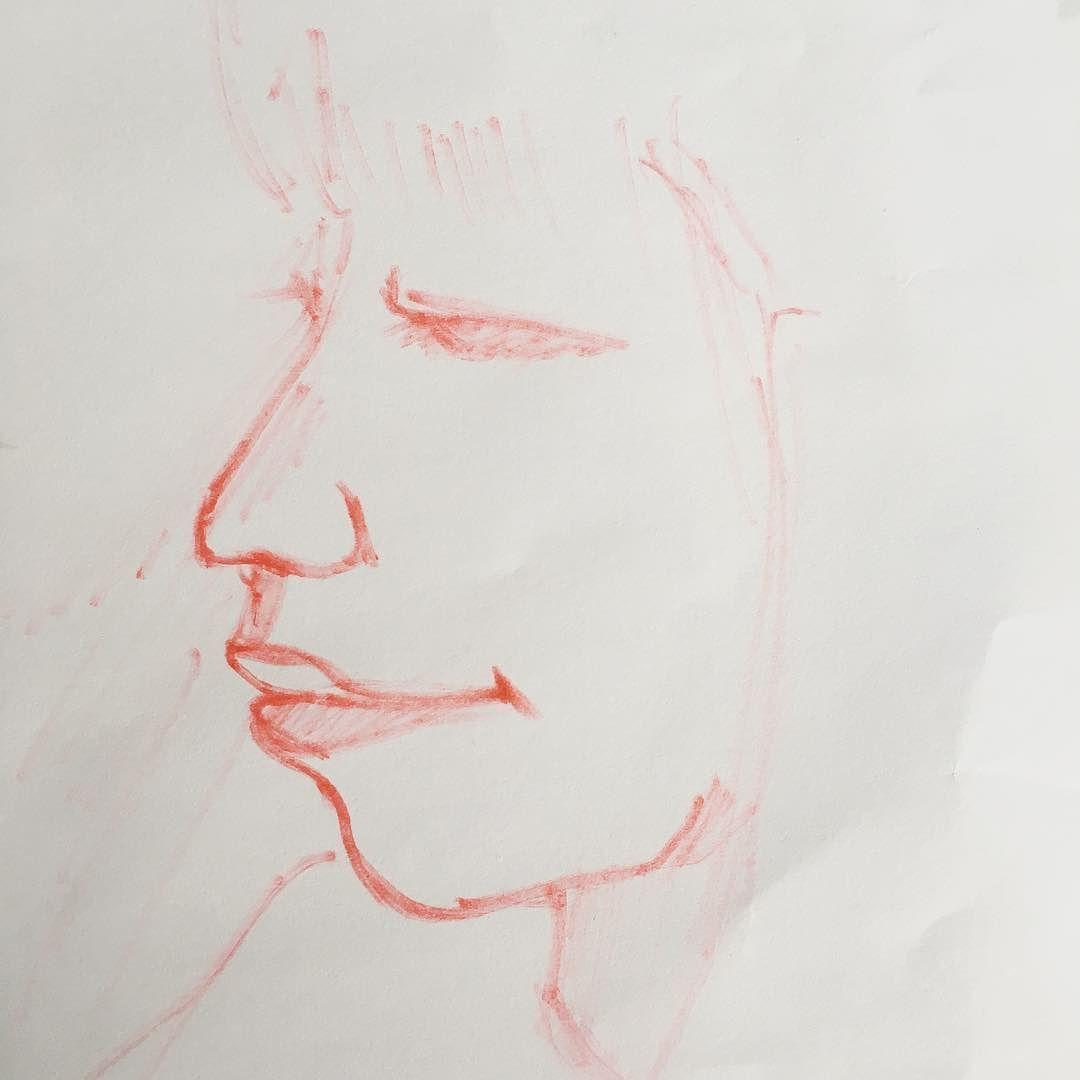 I need to practice... a lot !  #drawing #draw #instadraw #dessin #portrait #feutrepourri