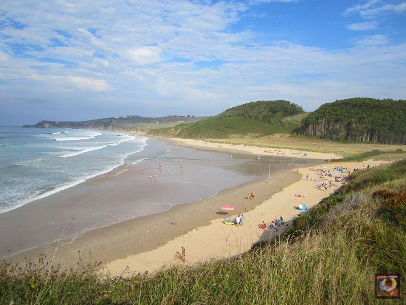 Playa De Merón En San Vicente De La Barquera Cantabria Playa San Vicente Viajes