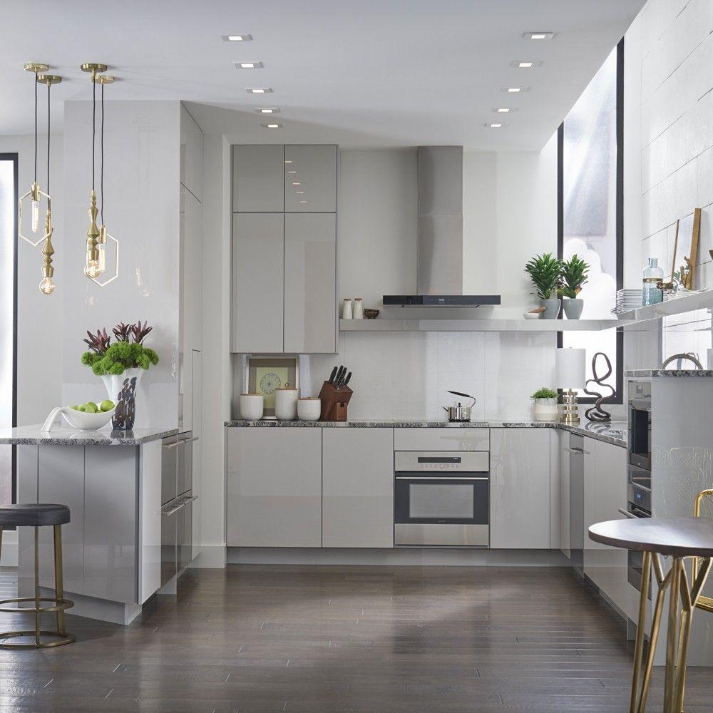 UltraCraft Ikea kitchen design, Glass kitchen