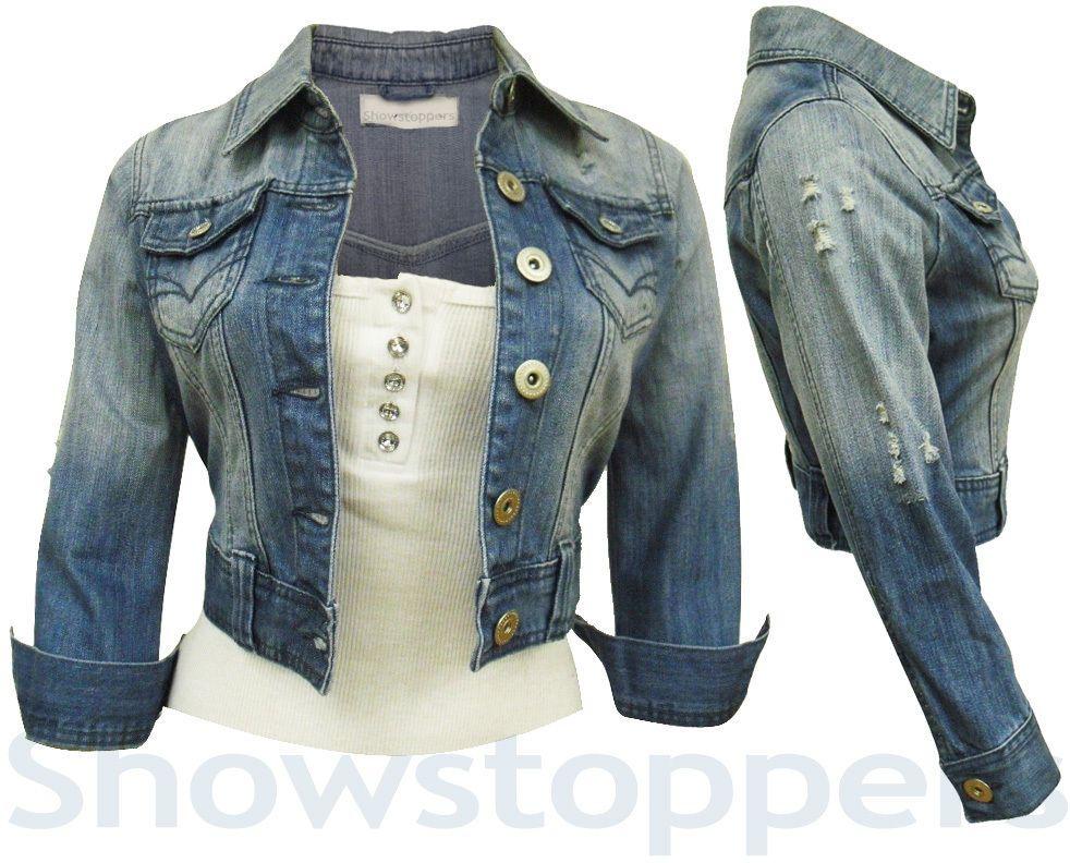Denim Jeans Jackets Ladies