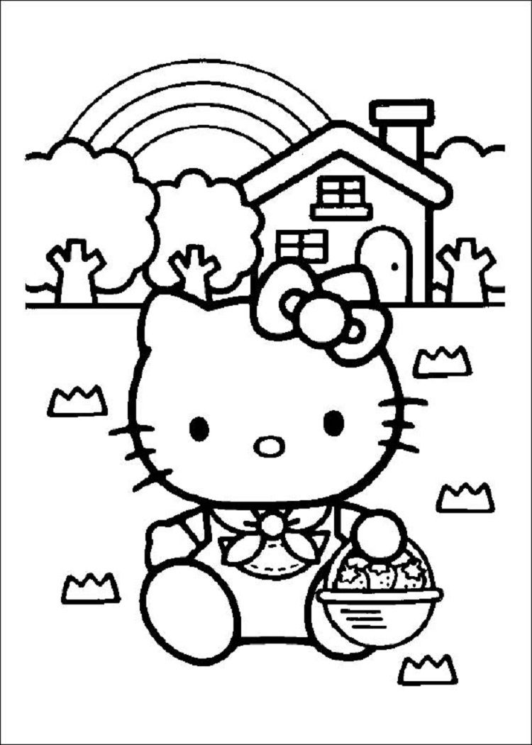 Hello Kitty Coloring Pages A4 Hello Kitty Colouring Pages Hello Kitty Coloring Kitty Coloring