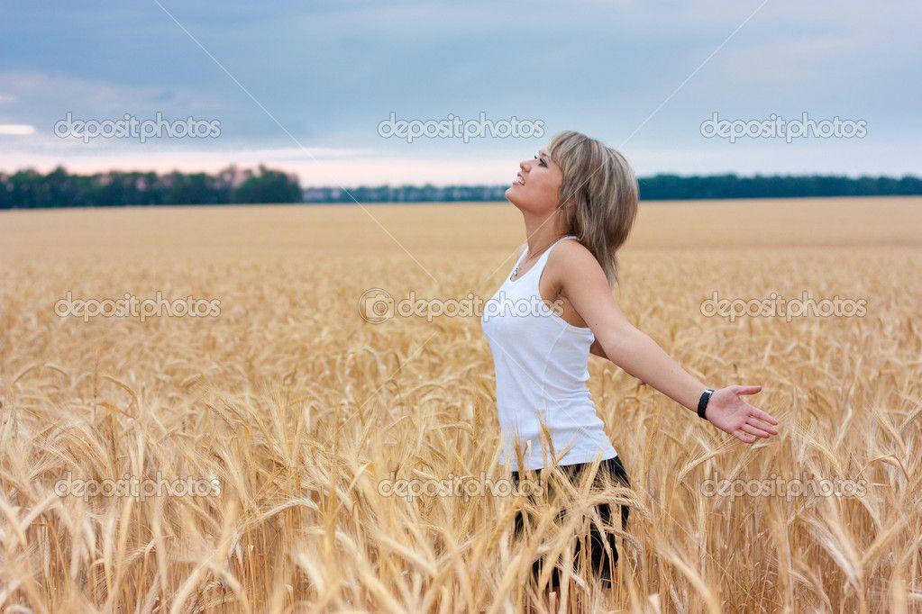 girl running field - Google Search