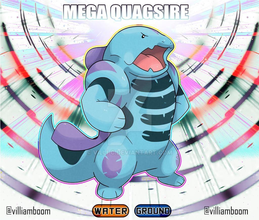 Mega Quagsire by villi-c on DeviantArt in 2020 | Mega evolution pokemon,  Cool pokemon, Pokemon breeds