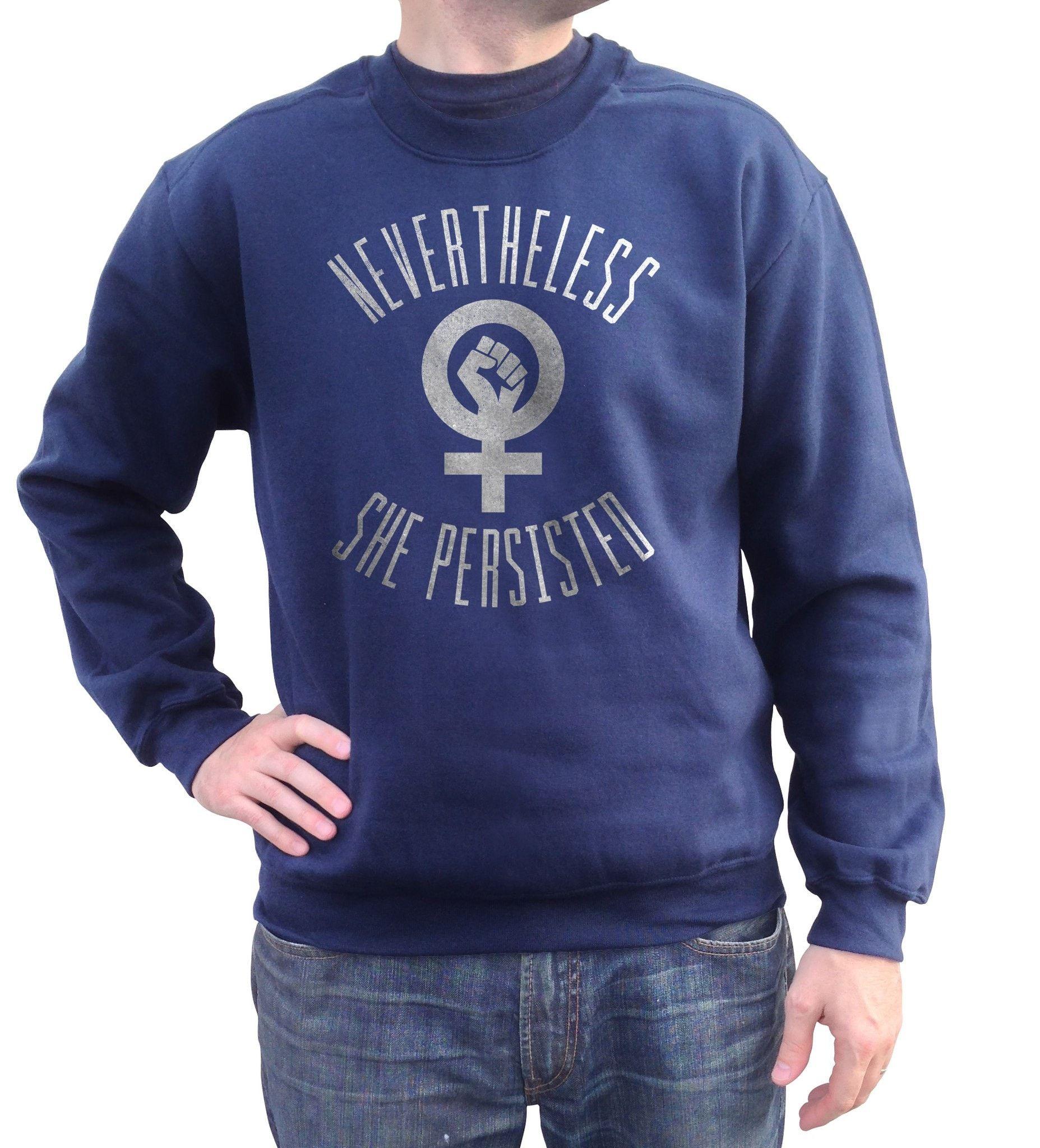 Unisex Nevertheless She Persisted Sweatshirt Elizabeth