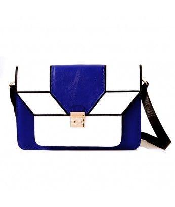 Bolsa Mies Azul Escuro-  Ado Atelier