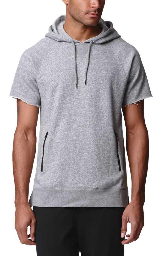 Fear of God Essential Short-Sleeve Hoodie | for my future closet ...