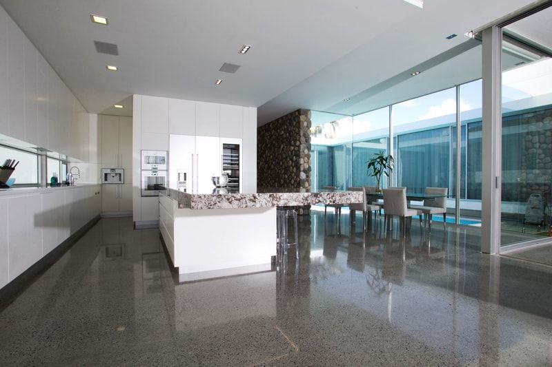 Polished Concrete Floors For Your Kitchen Can Modernize Your Home ...