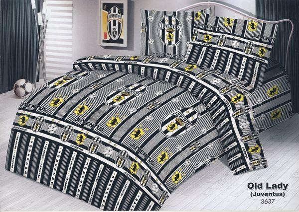 Jual Sprei Dan Bed Cover Murah Motif Juventus Sprei Bed Cover Produk
