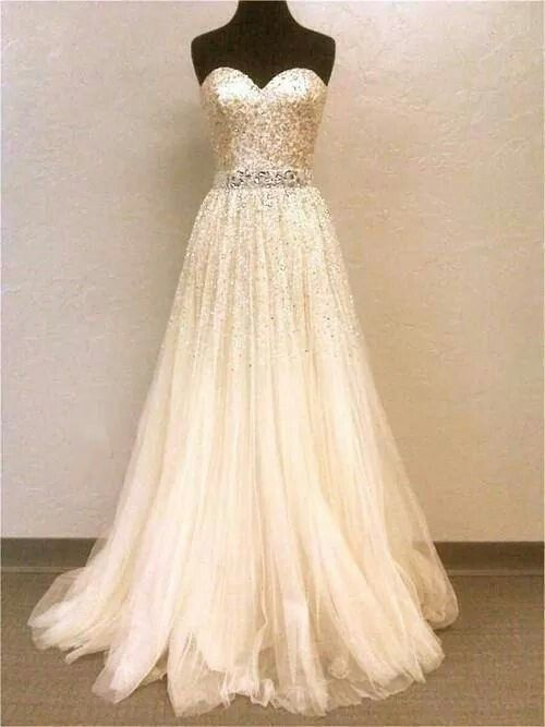 b5d71bbb Omg absolutely LOVE!! Omg absolutely LOVE!! Sparkly Wedding Dresses, Wedding  Dress ...