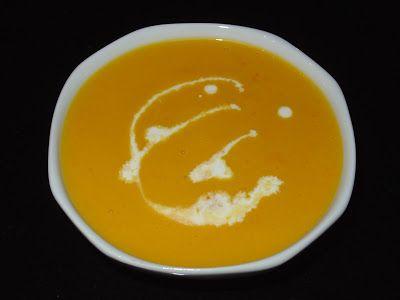 Ma Petite MyCook: Crema naranja de calabaza y zanahoria