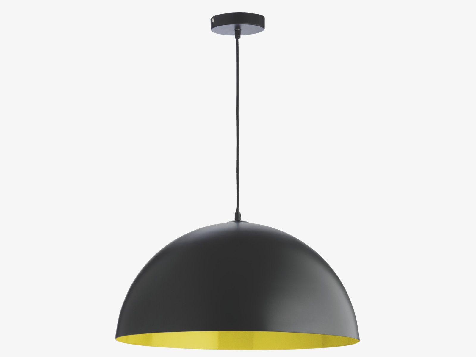 Samuel Yellows Metal Black And Yellow Metal Pendant Lamp Pendants Habitatuk Metal Ceiling Lighting Metal Ceiling Metal Pendant Lamps