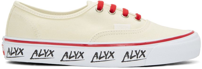 148787ff12ac9c ALYX White Vans Edition Og Authentic Lx Sneakers.  alyx  shoes  sneakers