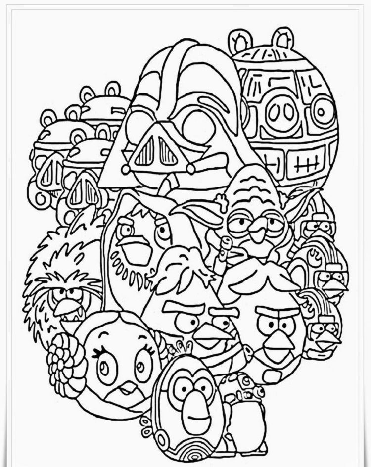 star wars easter coloring pages Star wars coloring book