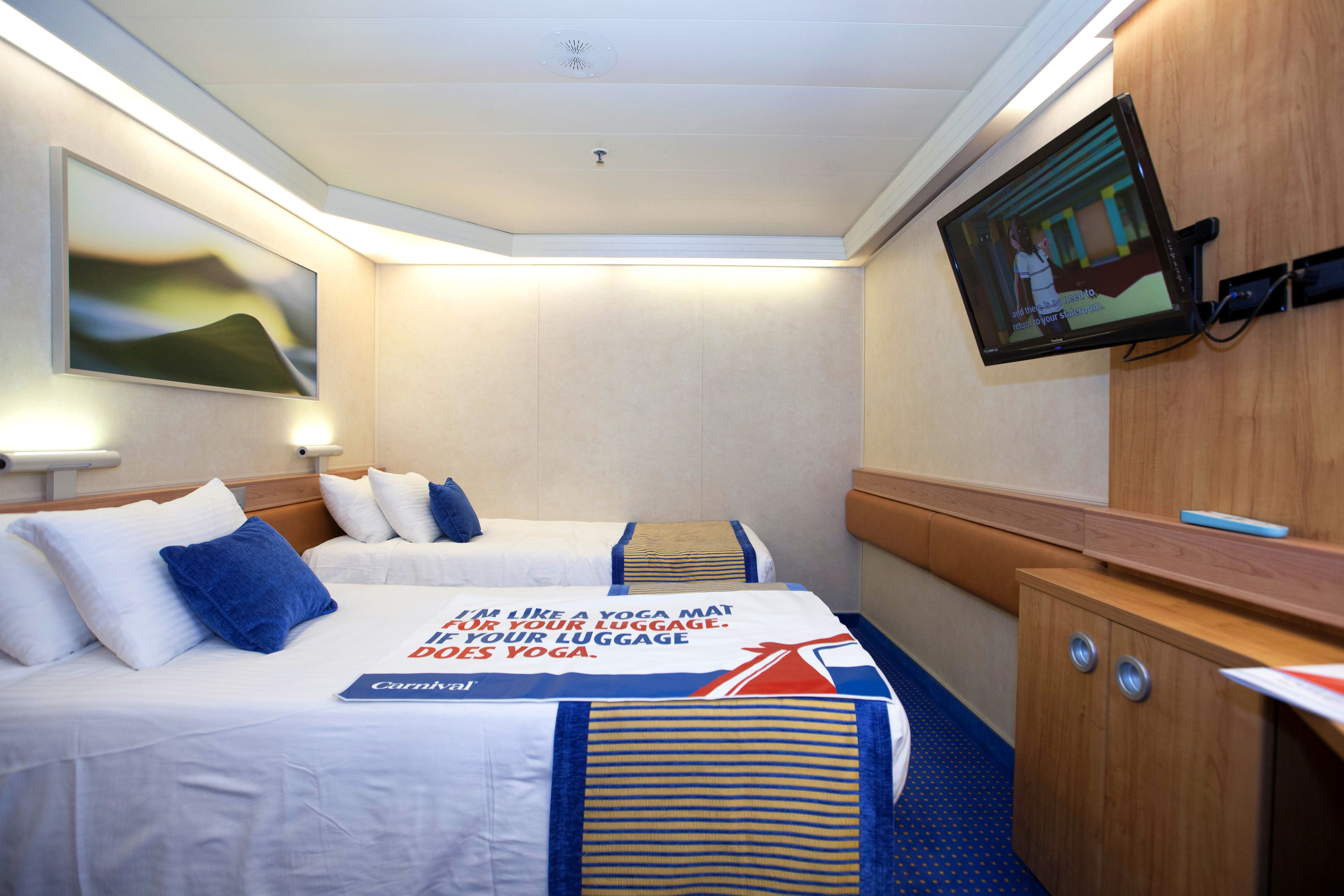 Interior Cabin On Carnival Sunshine Photo Cruise Critic Travel