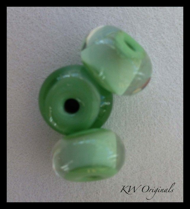 Spacer Handmade Glass Beads £3.50