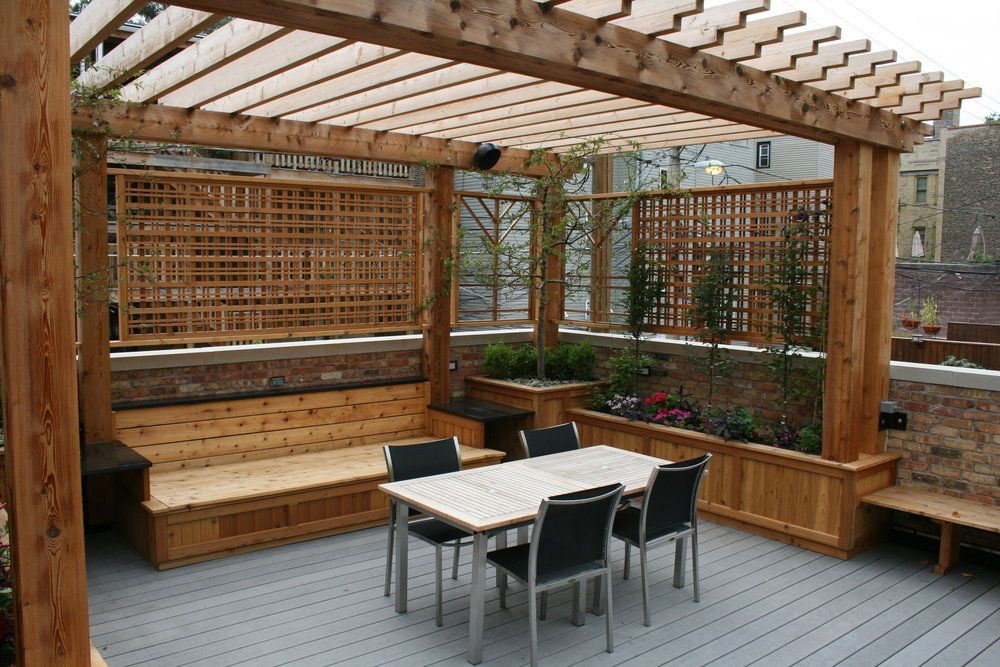 Image result for garage with roof deck For the Home Roof deck