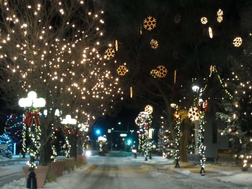 Christmas In Colorado.Downtown Parker Main St Parker Co At Christmas My Home