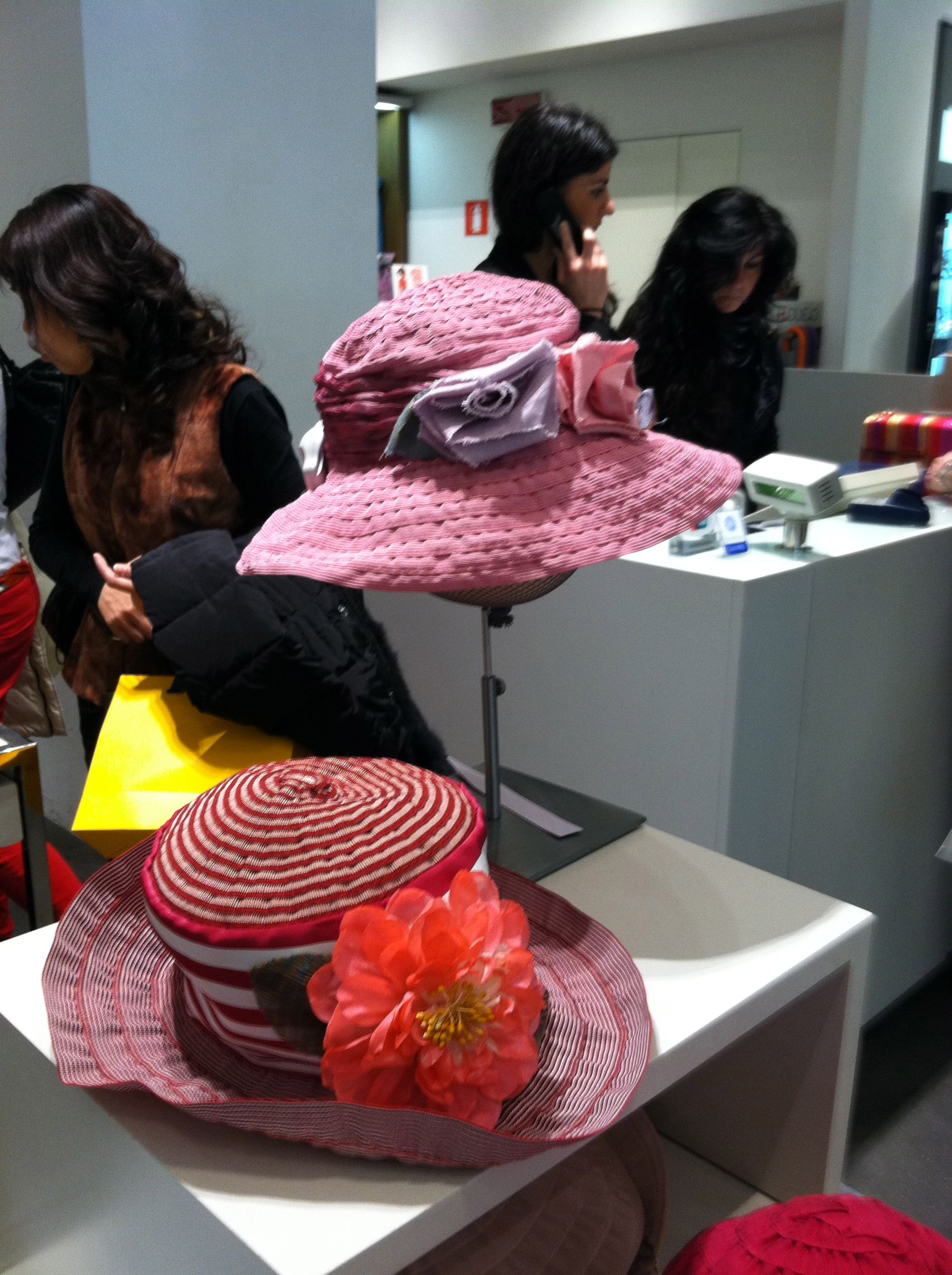 Beautiful Grevi Hats at a department store in Firenze c2ec6bcc8db