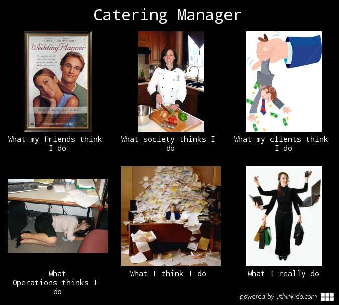 True story Itu0027s a food service thing! Pinterest - catering manager