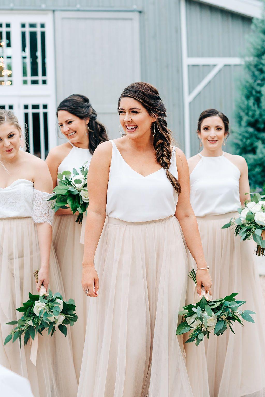 Skylar Tulle Skirt In 2020 Bridesmaid Skirt And Top Unique Bridesmaid Dresses Tulle Skirt Bridesmaid