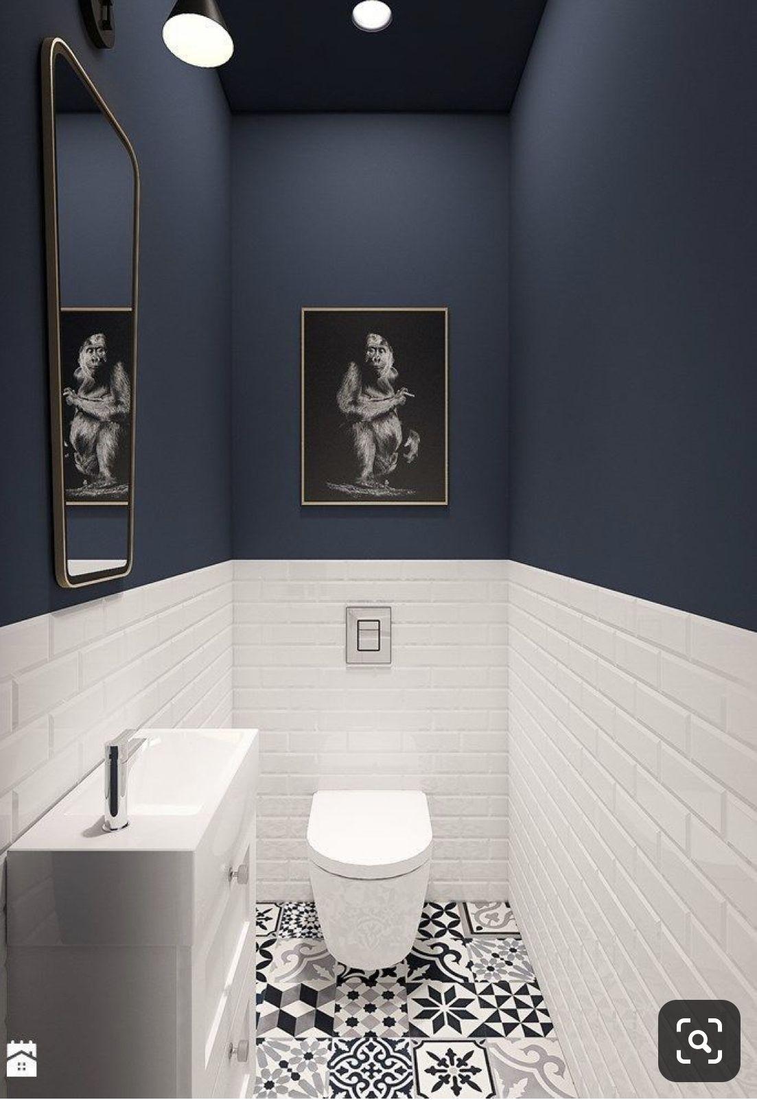 Pin By Amanda Mcdaniel On Bathroom Small Bathroom Decor Bathroom Interior Design Small Toilet Room