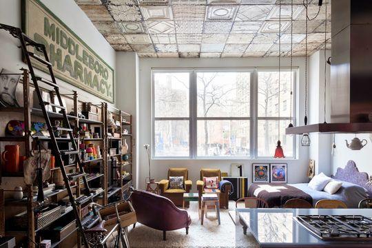 Déco new york, carrelage métro et loft industriel | Lofts and Manhattan