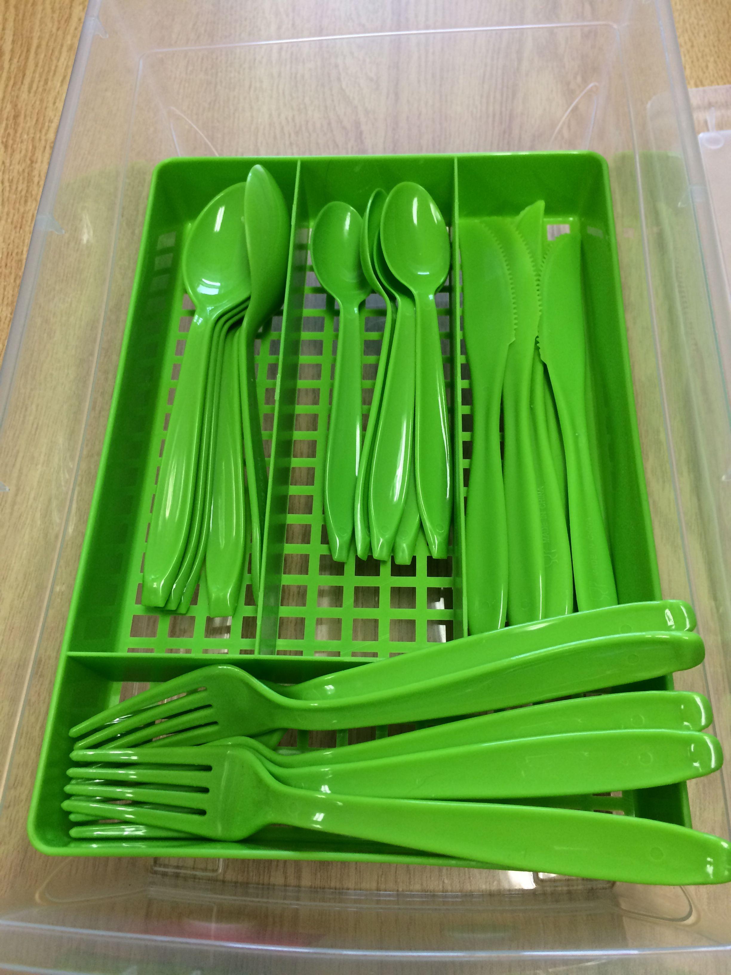 Sorting Cutlery Work Task From Dollarama