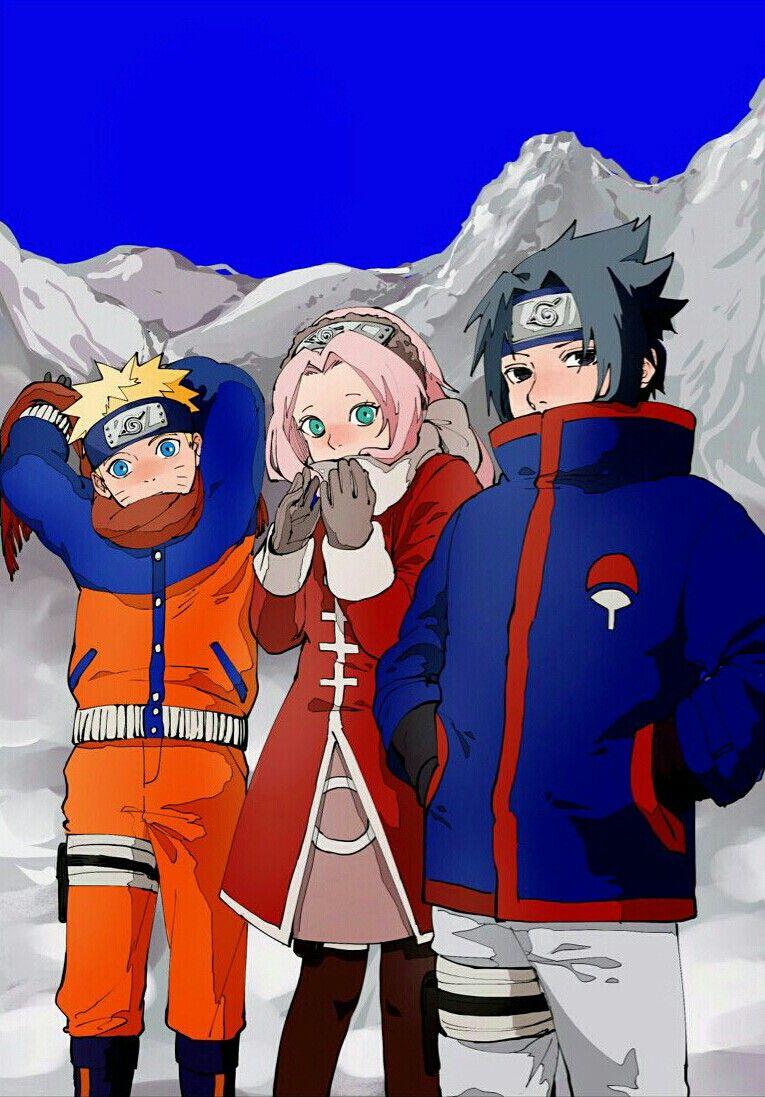 Sasuke Sakura Naruto Naruto Cute Naruto Sasuke Sakura Anime