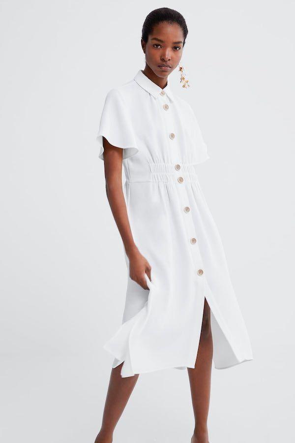 Catalogo Zara Primavera Verano 2020 Moda En Pasarela Moda Vestido Camisero Zara Tendencias De Moda
