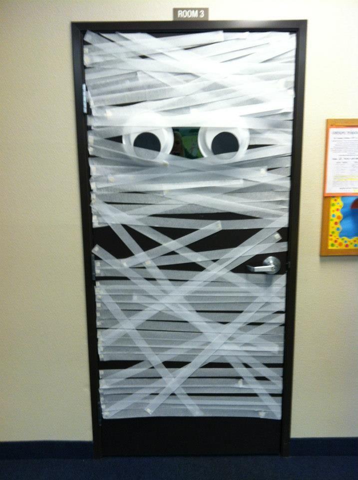 Pin By Slc Teachers On Classroom Bulletin Boards Halloween Dorm Halloween Door Decorations Door Decorations