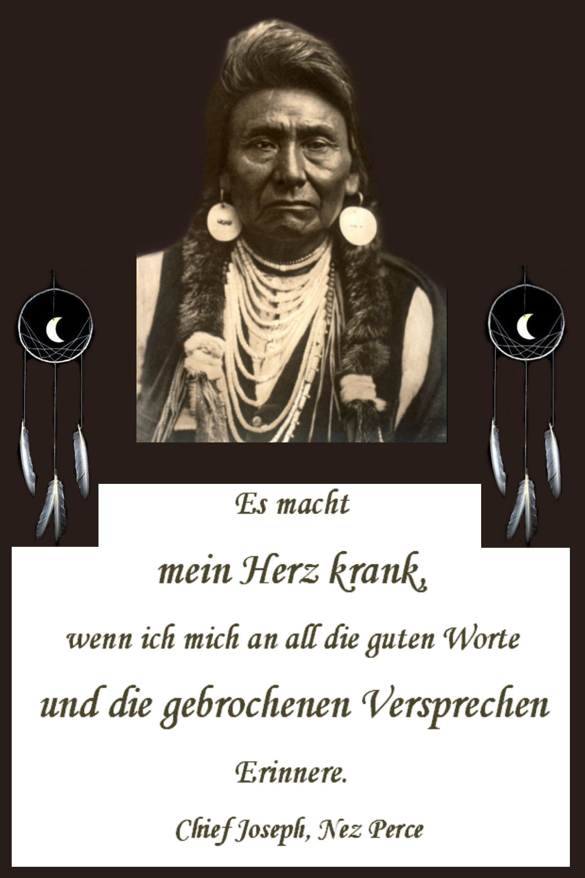 Indianische Weisheit | Pinky | Nez perce, Native american und Indian
