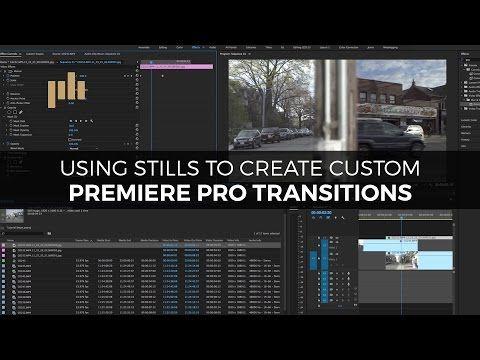Video Tutorial Creating An Animated Swipe Transition Premiere Pro Adobe Premiere Pro Custom