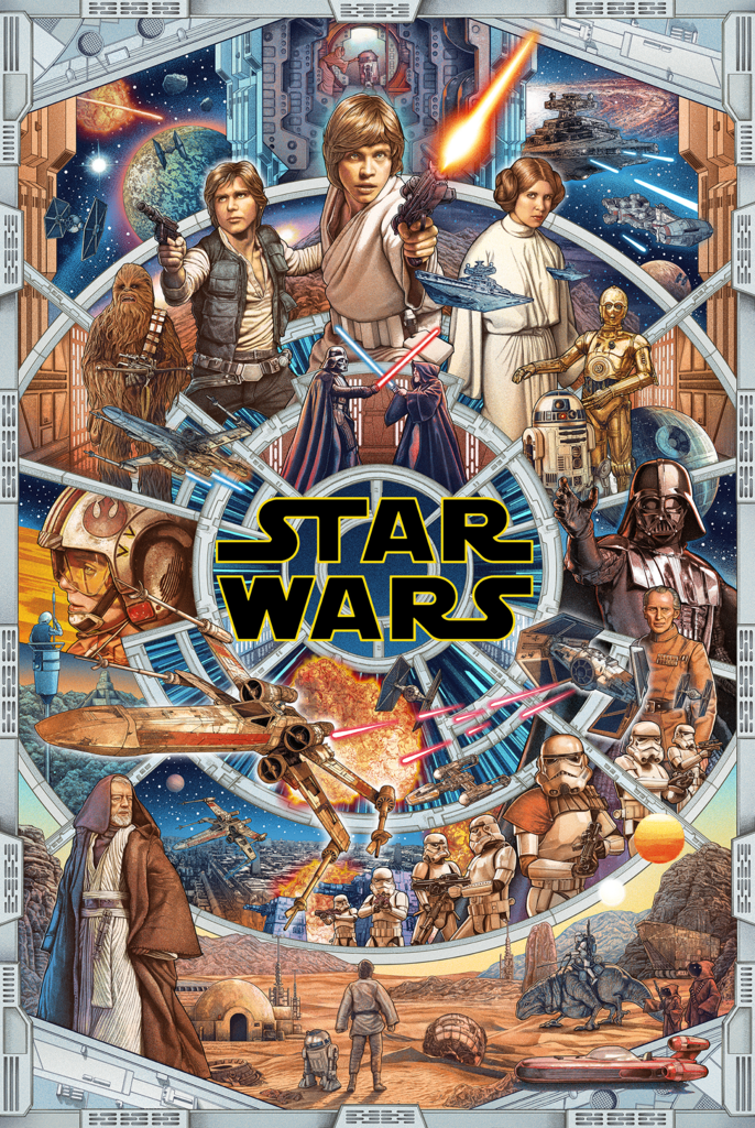 STAR WARS DAY! New Releases by Ise Ananphada, Gianmarco Magnani, Andy Fairhurst & Juan Ruiz Burgos - On Sale INFO!