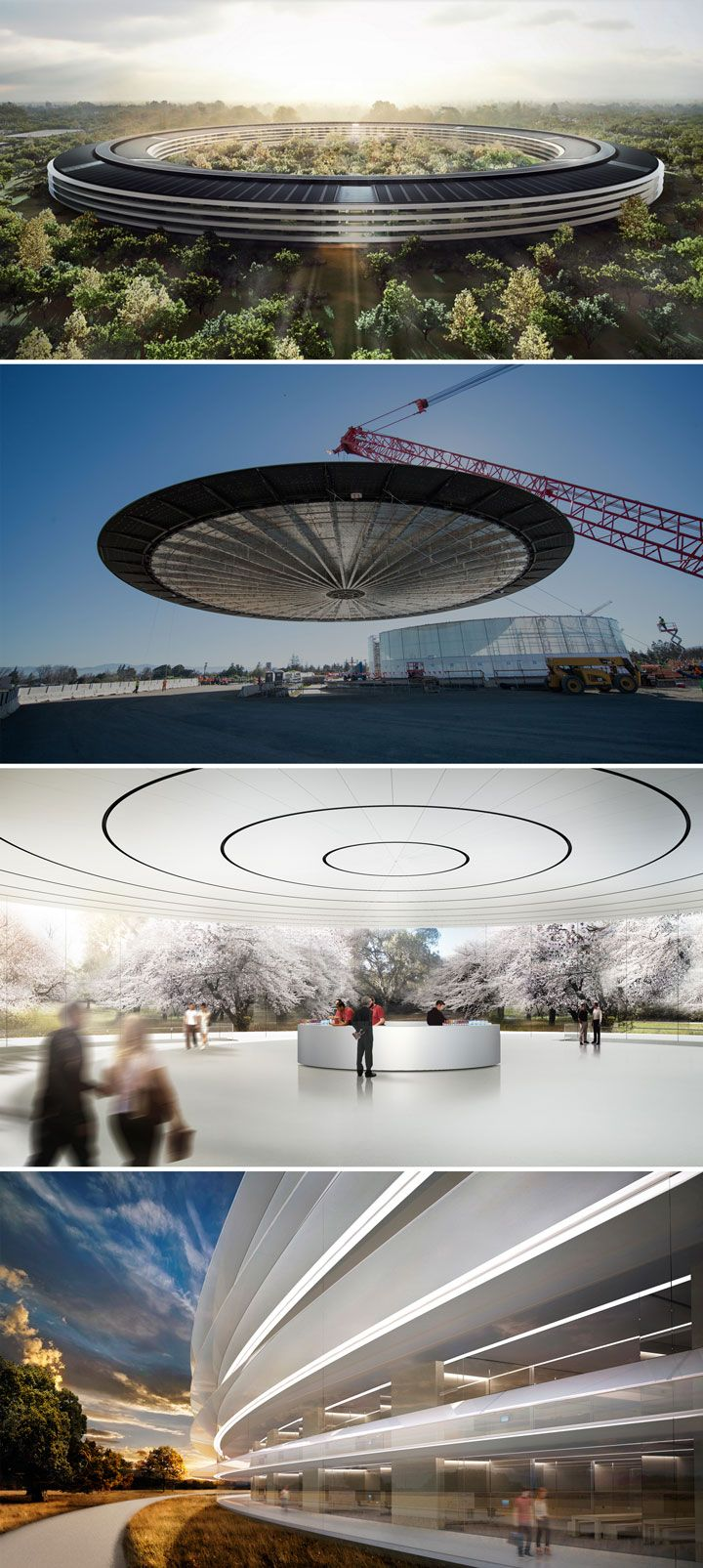 The spaceship rises: A first look at Apple's new campus