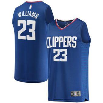 0f0a6c767 Lou Williams LA Clippers Fanatics Branded Fast Break Replica Jersey Royal - Icon  Edition