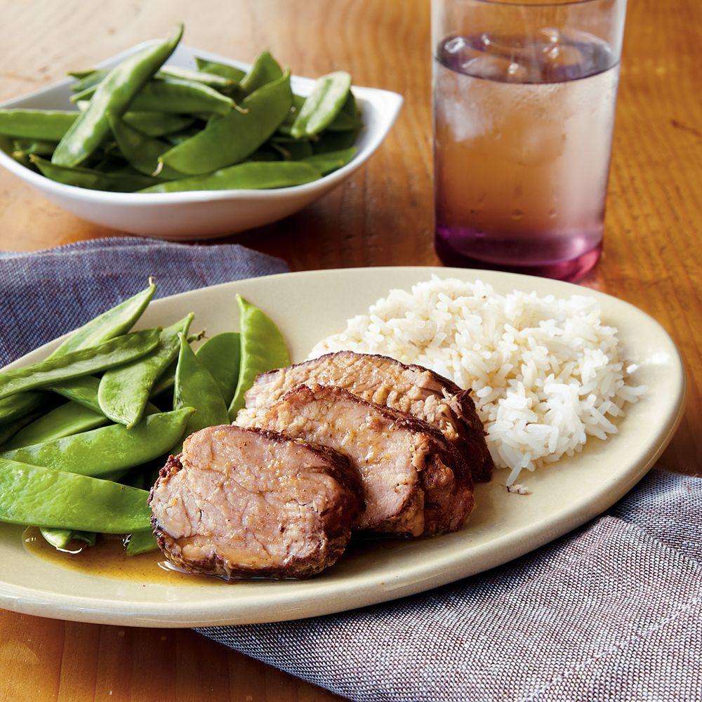 Plum Pork Tenderloin Recipe Summer slow cooker recipes
